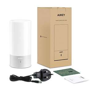 Aukey RGB table light + 24 month warranty £25.99 Sold by AUKEY direct and Fulfilled by Amazon.