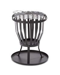 Gardenline Fire Basket £14.99 @ Aldi