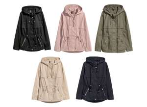 Short Parka with a Hood for £14.99 delivered using H&M Rewards @ H&M