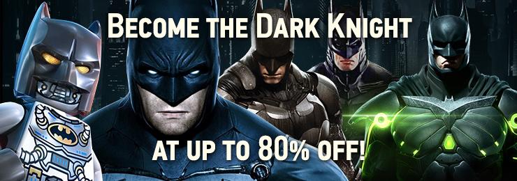 gamersgate.com pc batman sale and cheap lego games at cdkeys.com