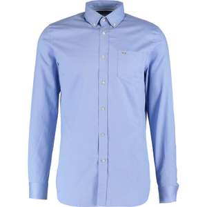 LACOSTE  Powder Blue Woven Long Sleeve Shirt £24 @ Tk Maxx  - £1.99 c&c