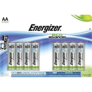 8 Energizer eco advanced instore at Toys R Us for £2.70