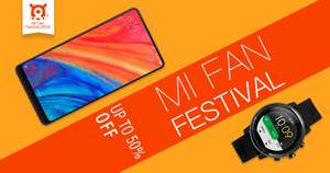 Mi Fan Festival - Geekbuying - Up to 50% off Xiaomi stuff
