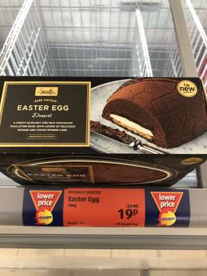 Easter Egg Dessert 19p @ Aldi south Norwood
