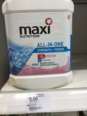 Maxi Nutrition all-in-one £5 boots in Telford