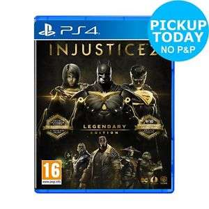 Injustice 2 Legendary Edition (PS4/XB1) £30.99 click and collect (+£2.99 delivered) @ Argos Ebay