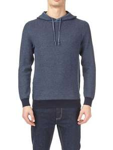 Burtons navy textured hoodie small or large £10 was £30 @ Debenhams