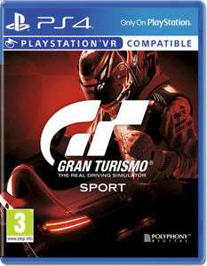 Gran Turismo: Sport (PS4) £14.99 delivered (used) @ Boomerang on ebay