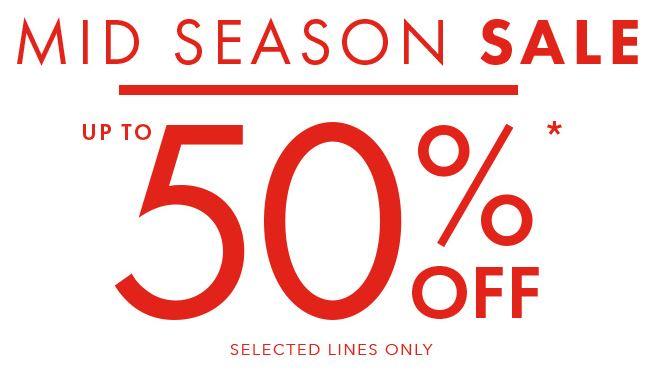 Peacocks - Up to 50% off mid season sale!