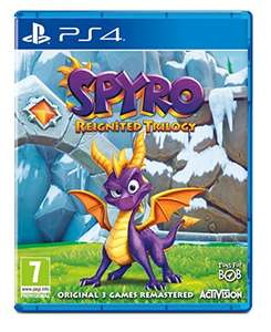 Spyro Reignited Trilogy PS4/Xbox One Preorder £27 w/ Prime - £29 w/o Prime @ Amazon
