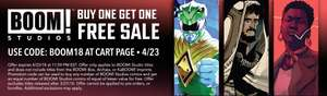 BOGOF on BOOM! comics at Comixology (with code)