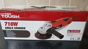 Hyper Tough 710W Angle grinder £9.50 instore @ Asda South Shields