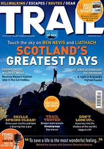One year subscription to trail magazine including 1 year Ordnance Survey Mapping and a Primus Stove worth £100 for £59.80