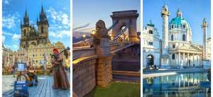 From London: Budapest, Vienna & Prague 1 Week Trip 12-19 June £199.99pp Inc Flights, Accommodation and Train @ booking.com