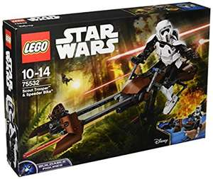 "LEGO UK 75532 ""Scout Trooper and Speeder Bike"" Construction Toy - £31.99 @ Amazon"