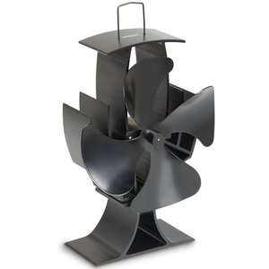 VonHaus 4 Blade Stove Fan + 2 Year Warranty £19.99 @ Domu