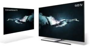 Special pre-order offer for the new 2018 QLED Samsung TV range from £1999 @ samsung