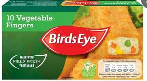 Birdseye 10 Vegetable Fingers (2 Packs for £1.50) @ Iceland