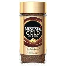 Nescafe Gold Blend Instant Coffee 200G, £4.50 @ Tesco