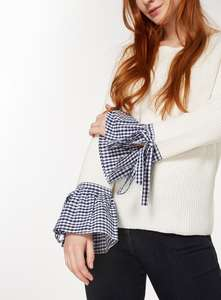 TU Gingham Woven Sleeve 2 in 1, normally £20, reduced to £6 at Sainsburys in store and online