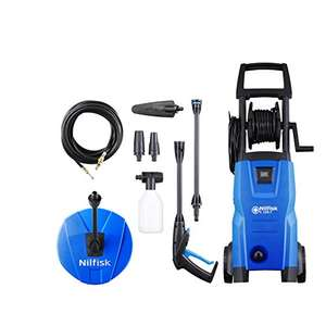 Nilfisk C 120 bar Pressure Washer with Patio Cleaner and Drain Cleaner (2017 model) - was £149.99 now £89.99 @ Amazon