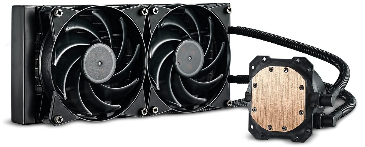Cooler Master Masterliquid Lite 240 AIO CPU Cooler £34.98 @ Novatech