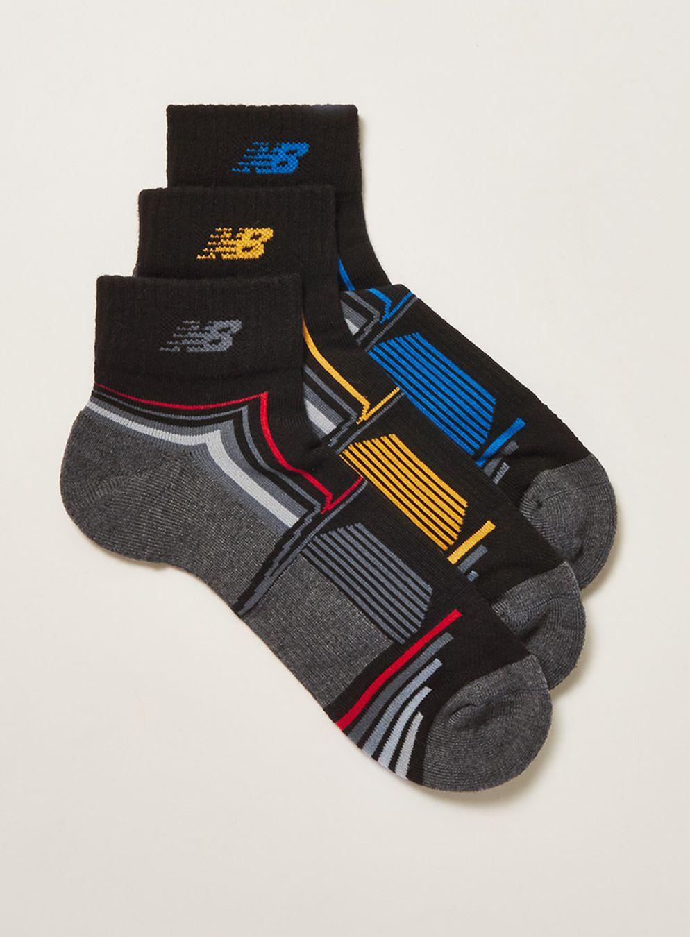 Topman online New Balance Black 3 Pack Socks £2 - free c&c