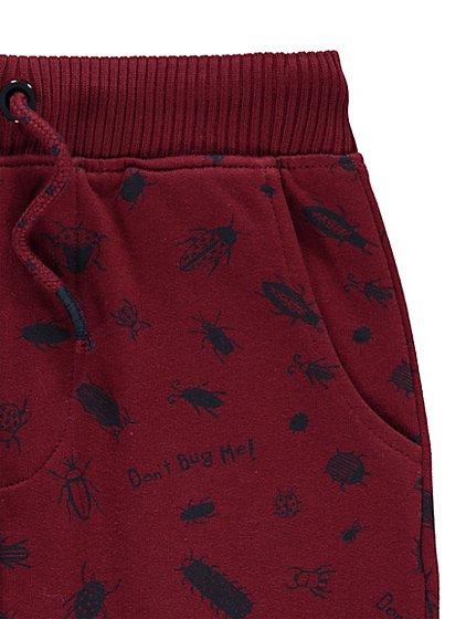 Bug print childrens joggers 2-3,3-4,4-5 yrs now £3 @ Asda