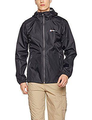 Berghaus Men's Deluge Light Waterproof Jacket £43.68 (Black) Amazon