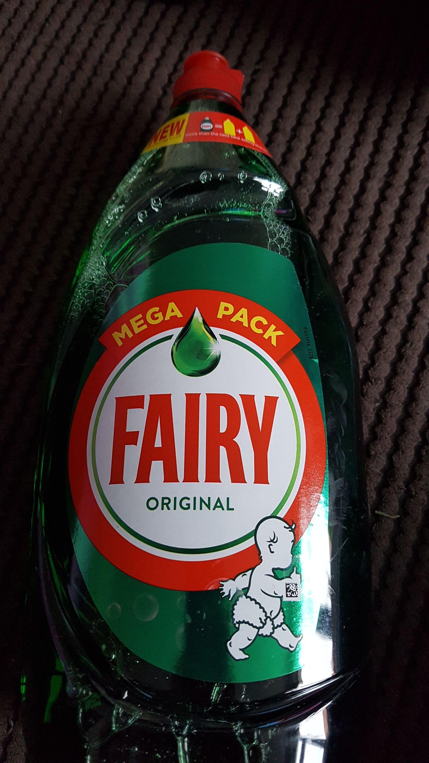 Fairy original mega pack 1350ml *BARGAIN* £2 in-store / online at asda