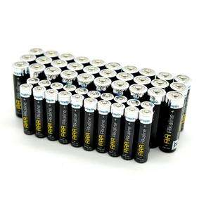 Price Crash on batteries -  Long-Lasting Alkaline Batteries 30 AA and 20 AAA £3 @ Maplin