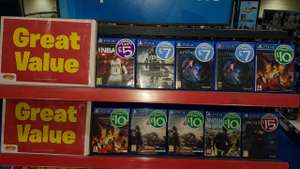 Smyths Speke - PS4 Games Sale e.g SNIPER GHOST WARRIOR 3 ps4 - £7
