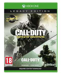 [Xbox One] Call of Duty: Infinite Warfare Legacy Edition - £10.00 - Tesco Direct