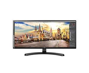 LG 34UM68 34-Inch Ultrawide Height Adjustable IPS Monitor (2560 x 1080, HDMI, DisplayPort, 300 cd/m2, 5ms, AMD Freesync), £306.05 at amazon