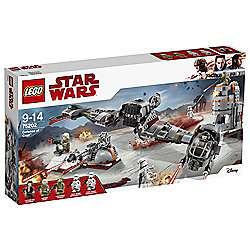 Lego 75202 Defense of Crait £59.20 at Tesco with code