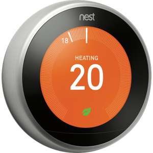 Nest learning thermostat 3rd generation £153.30 @ Maplin (in store only)