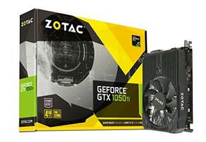 Zotac GeForce GTX 1050Ti 4 GB Mini Graphics Card - Black £149.99 Amazon