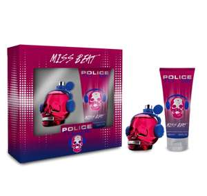 Police To Be Miss Beat eau de parfum 40ml Gift Set £10.66 at Boots + Free c&c