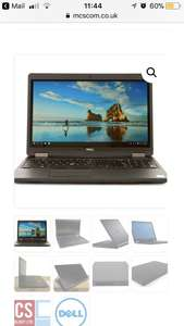 Dell Precision 15 3510 i7 6820HQ 2.70GHz,16Gb,360Gb SDD,2Gb AMD FirePro W5130M,REFURB laptop £551.94 - MSC
