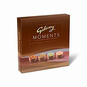 Galaxy Moments smooth milk chocolates (pack of 2) - was £14 now £7.05 prime / £11.04 non prime @ Amazon