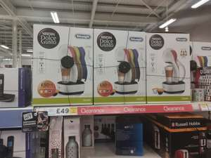Nescafé Dolce gusto colours with £30 credit £49 instore @ Tesco burnage