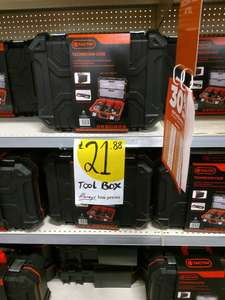 Tactix technician tool case- £15.32 instore at Homebase Longewell Green.
