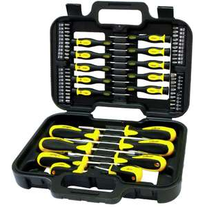 Rolson Screwdriver & Bit Set 58pc £12.99 @ B&M bargains