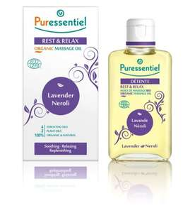Offerstack 1/3 off Puressentiel items PLUS get  3 for 2 at Boots - Eg; Puressentiel Organic Massage Oil (was £9.99) get 3 for £13