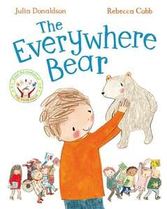 'Everywhere Bear' children's book by Julia Donaldson £2 prime / £4.99 non prime @ Amazon