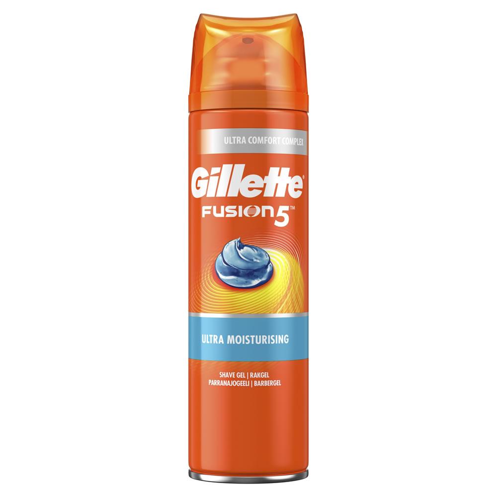 Gillette Fusion 5 Shave Gel Ultra Moisture 200ml £1.80 @ wilkos