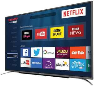 "Sharp LC-43CFG6352K 43"" Full HD Smart TV £278.99 delivered + 5 Year warranty / Finlux 43 Inch 4K UHD Smart TV £259 delivered @ Box"
