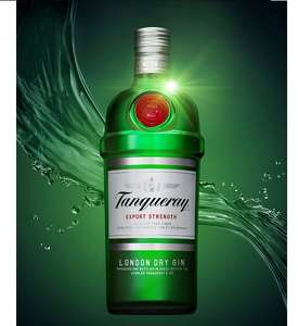 GIN!! Tanqueray export strength 43.1% gin 1L now £20, Gordon's 70c now £12 & New Tanqueray Sevilla 70cl £20 @ Asda