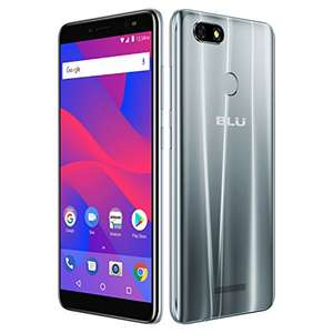 "BLU Vivo XL3 -5.5"" HD+ 18:9 Display Smartphone with Android 8.0 Oreo –Silver - £118 for 24 hours only @ Amazon US"