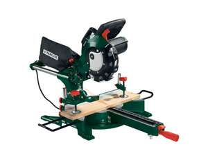 Parkside Sliding Cross Cut Mitre Saw £79.99 at Lidl  Starts 19th April